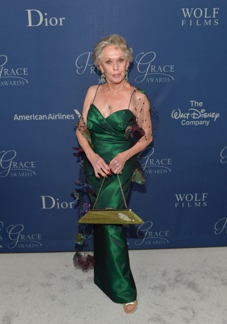 The Birds star Tippi Hedren is honored at the Gala as one of Hollywood's legends